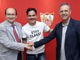 Le joueur a signé pour trois saisons. SevillaF