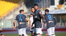 El SPAL rescató los tres puntos del Ennio Tardini. Twitter/SPALFerrara