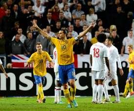Quando Ibrahimovic annientò l'Inghilterra. AFP