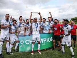 El equipo neozelandés hizo historia. Twitter/@TeamWelly
