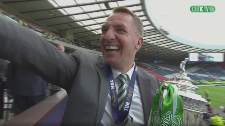 Otra victoria más del Celtic. Captura/CelticTV