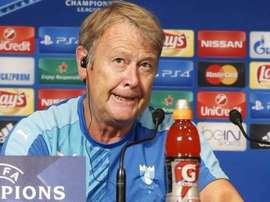 The Malmo head-coach criticised his teams schoolboy errors. Twitter