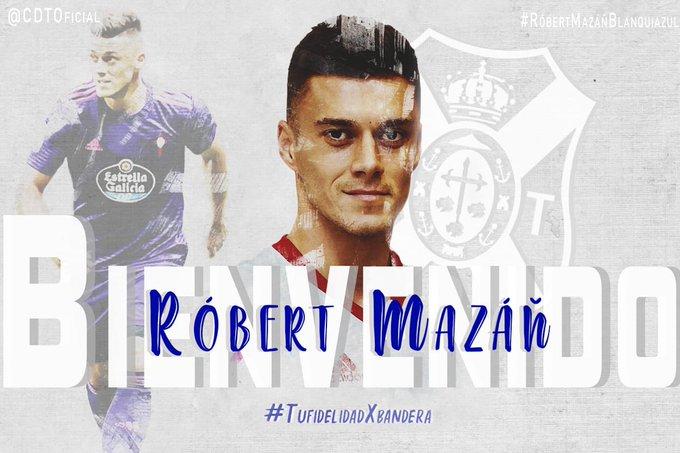 El Tenerife logró la cesión de Róbert Mazán. CDTenerife
