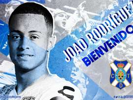 Joao Rodríguez llega cedido del Chelsea. CDTenerife