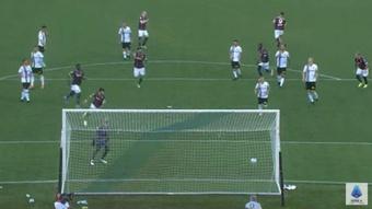 El Ternana Calcio venció al Bologna por 4-5. Captura/Youtube/SerieA