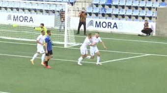 El Teuta albano venció 0-3 al Inter Escaldes y pasó de ronda. Captura/Youtube/FAFTv