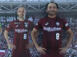 Le 'sosie' japonais d'Iniesta. Twitter