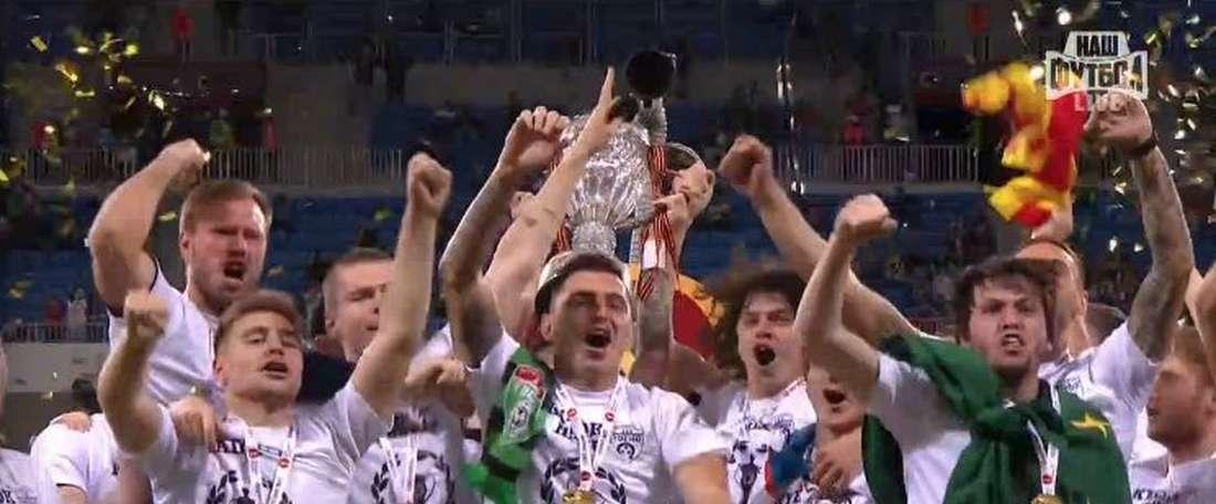 El Tosno jugará la Europa League la temporada que viene. Captura