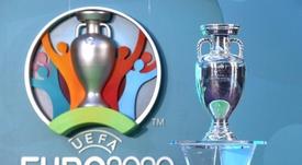 As 20 seleções classificadas para a Euro e as que jogarão a repescagem. UEFA