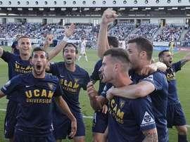 El UCAM Murcia supera al Castilla y asciende a Segunda División. LaInfoDeportes