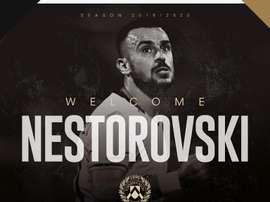 Ilija Nestorovski has signed for Udinese on a free. Udinese