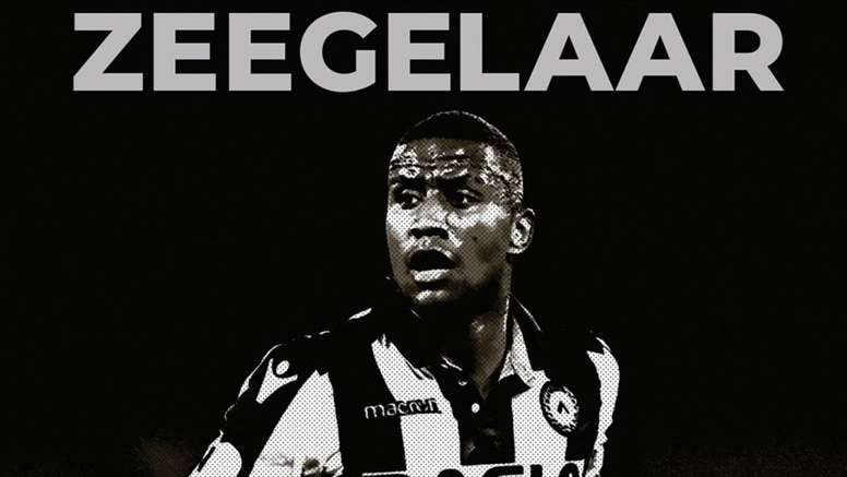 Zeegelaar vuelve al Udinese. Twitter/Udinese_1896