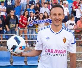Xumetra quiere los tres puntos ante el Oviedo. RealZaragoza