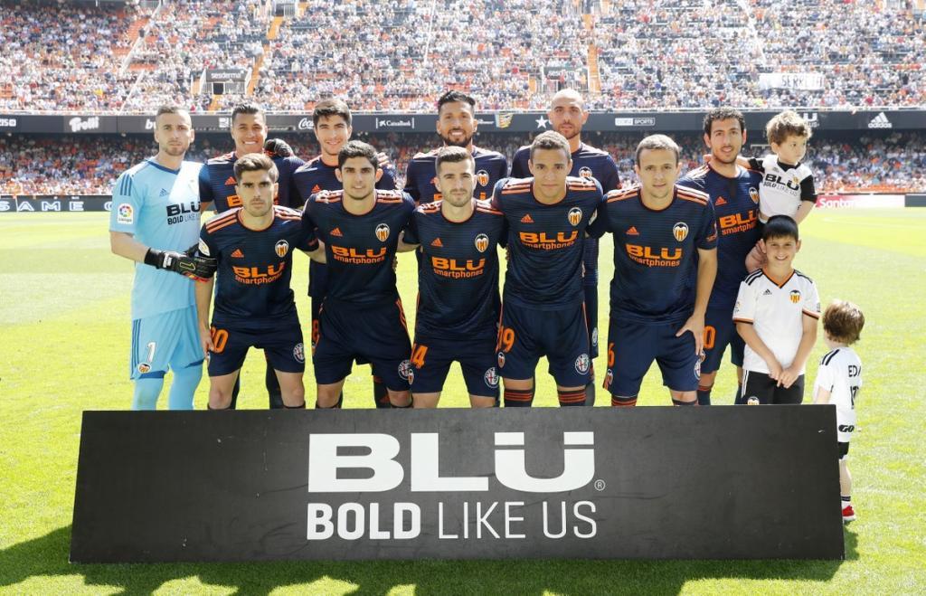 Maillot Valencia CF 2018