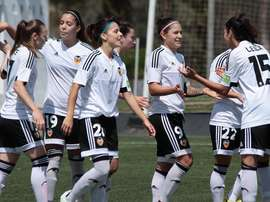 El Valencia Femenino se impuso al Athletic con un doblete de Mari Paz. ValenciaCFFemenino
