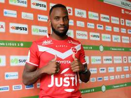 Lenny Nangis defenderá la camiseta del Valenciennes. Twitter/VAFC