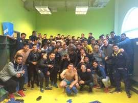 Everton, último clasificado para cuartos de final de la Copa Chile. Evertonsadp
