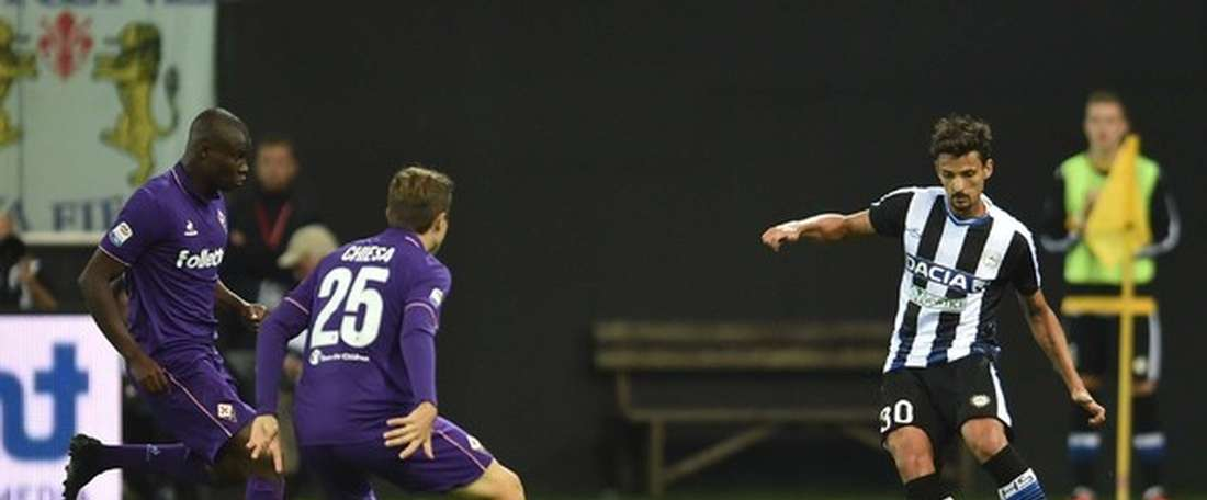 Felipe se retirará en el Udinese. Udinese/SimoneFerraro-Petrussi