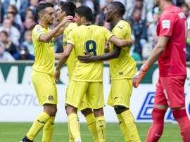 El Villarreal ganó por 2-3 al Werder Bremen. Captura