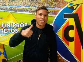 Le Colombien est prêté avec une option d'achat incluse sur son contrat. VillarrealCF