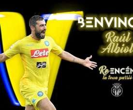 Albiol revient en Liga. Twitter/VillarrealCF