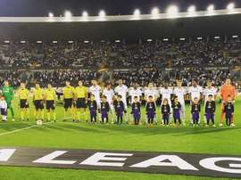 Vitoria SC, the first team to play in Europe with no European players. Guimaraes.