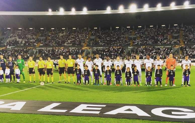 El Vitoria Guimaraes, primer equipo en jugar en Europa sin jugadores europeos. Guimaraes