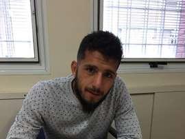 Alejandro Sebastián Navarro ya es nuevo jugador del Club Atlético Aldosivi. ClubAldosivi