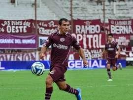 Mancinelli no guarda buen recuerdo de Lanús. FútbolParaTodos