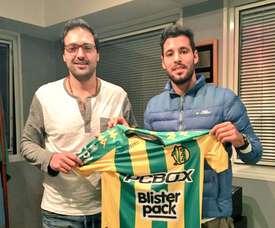 Federico Domínguez, nuevo jugador de Aldosivi. ClubAldosivi