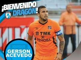 Gerson Acevedo, nuevo jugador del Club Deportes Iquique. ClubDeportesIquique