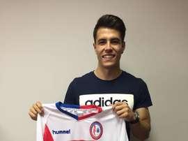 Christian Borrego, nuevo jugador del Rayo Majadahonda. RMajadahonda