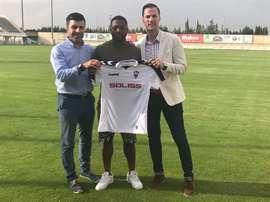 Jérémie Bela, nuevo jugador del Albacete. AlbaceteBalompié