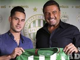 Lukács Böle firma con el Ferencvaros. Fradi