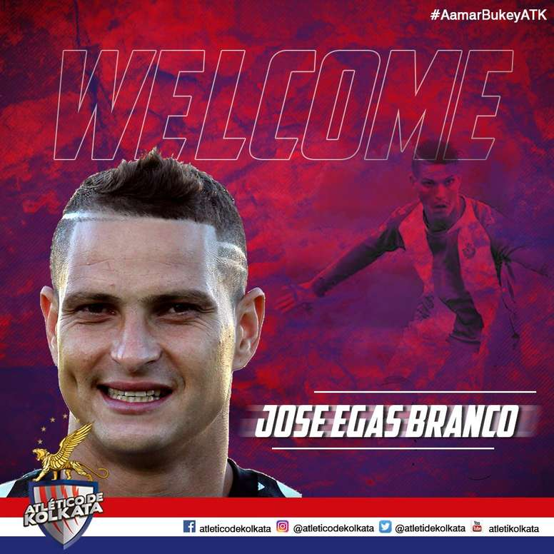 'Zequinha', nuevo jugador del Atlético Kolkata. AtléticodeKolkata