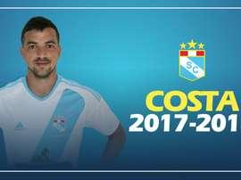 El volante uruguayo renueva con su equipo. SportingCristal