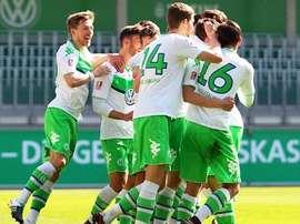 El Wolfsburgo Sub 19 deja ver sus cualidades. Wolfsburg
