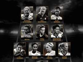 El Women's World XI de 2016. FIFPro