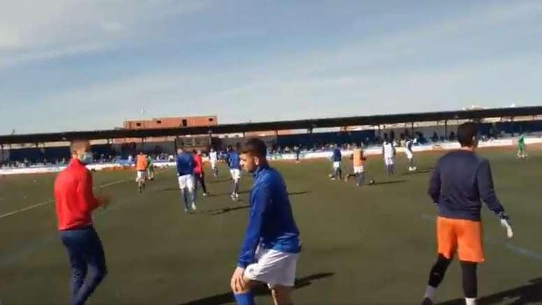 Yugo Socuéllamos y Badajoz se reparten el botín. Twitter/YugoUDS