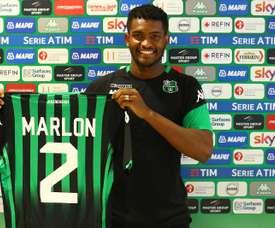 Marlon Santos a troqué l'Espagne pour l'Italie. SassuoloCalcio