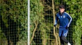 El Oviedo recibe al Málaga. Twitter/RealOviedo