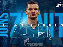 Lovren é o novo jogador do Zenit. FCZenit