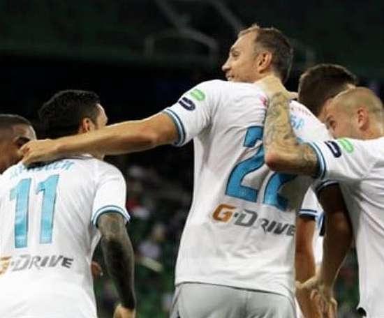 Zenit é campeão russo com três rodadas de antecedência. FCZenit