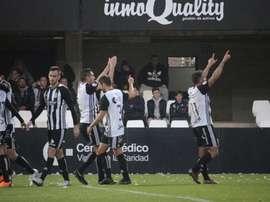 El Cartagena ganó 4-0 al Don Benito. Twitter/FCCartagena_efs
