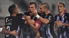 El Cartagena jugará ante el Barcelona un partido benéfico. FCCartagena_efs