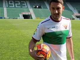 Eldin Hadzic es duda ante el Oviedo. ElcheCF