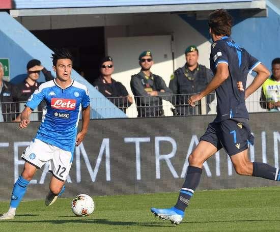 Naples prolonge trois joueurs.  Twitter/SCCNapoli