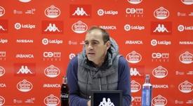 Eloy Jiménez espera que lleguen los resultados y sus hombres cojan confianza. Twitter/CDLugo
