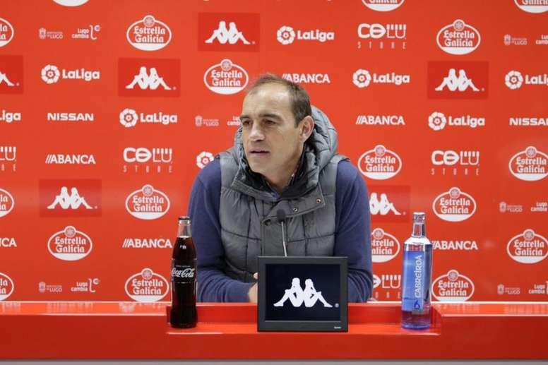 El Lugo se enfrenta al Albacete. Twitter/CDeportivoLugo