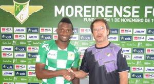 Elsinho, nuevo jugador del Moreirense. MoreirenseFC